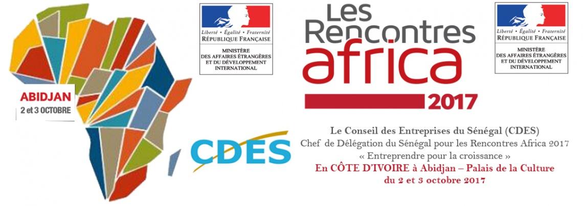 Rencontres Africa 2017 à Abidjan