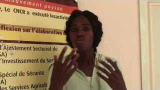 Atelier de capitalisation du projet PQDI - Awa Touré, entrepreneure